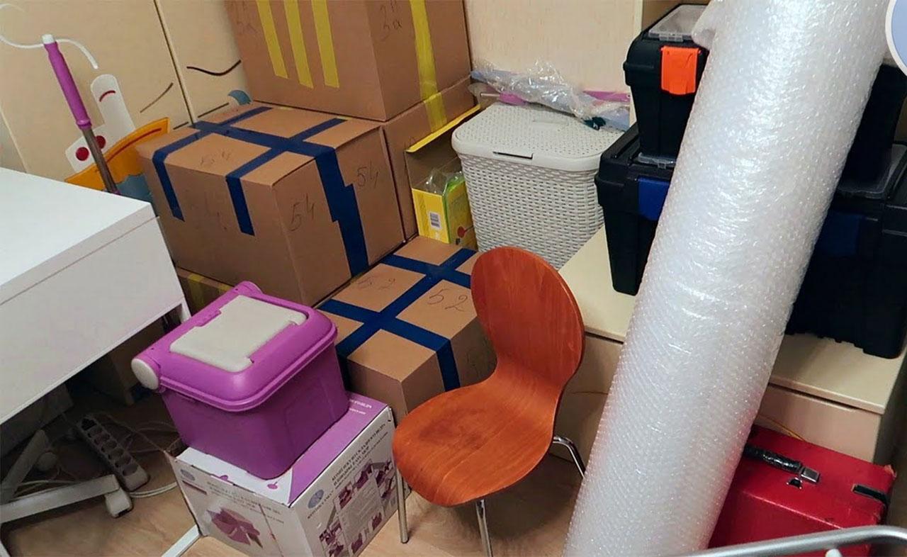 Правильная упаковка вещей для переезда